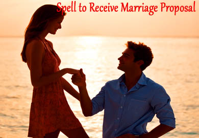 Spell to Receive Marriage Proposal