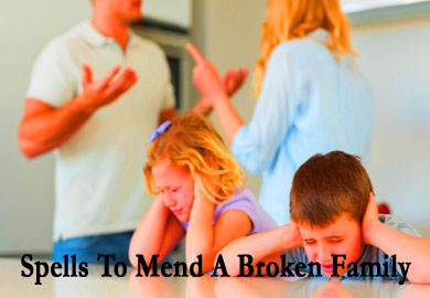 Spells To Mend A Broken Family