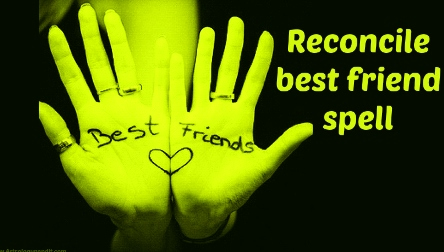 Reconcile Friendship Spells