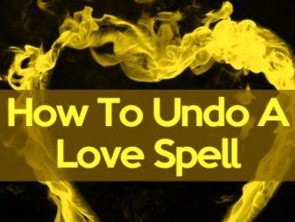 Prayer To Remove Love Spells