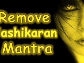 Vashikaran Removal Mantra